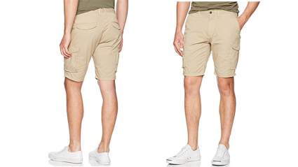 scotch & soda mens garment dyed cargo short, Cargo shorts, mens cargo shorts, mens casual shorts, mens shorts