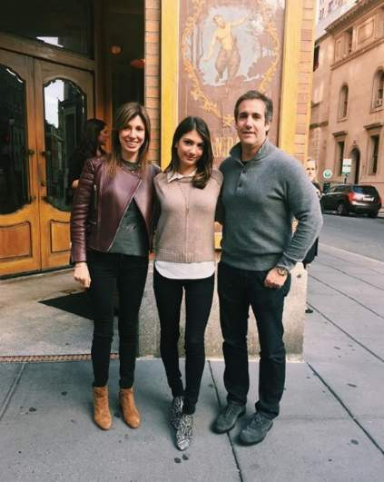 Laura and Michael Cohen and their daughter.