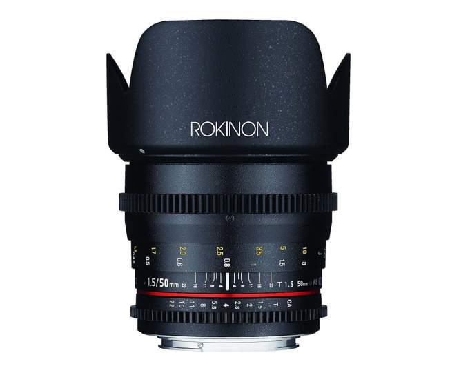 rokinon 50mm cine lens