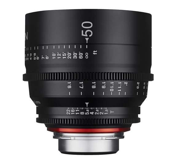 Xeen 50mm cine lens
