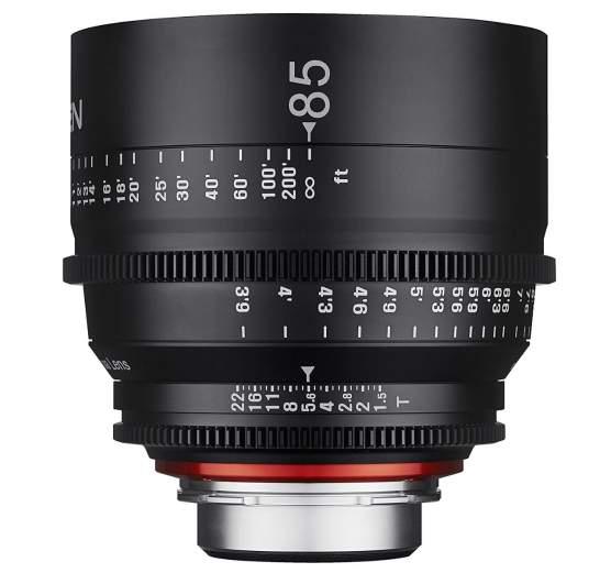 Xeen 85mm Cine Lens