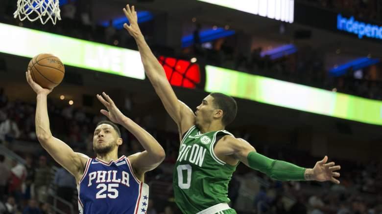 Sixers vs. Celtics