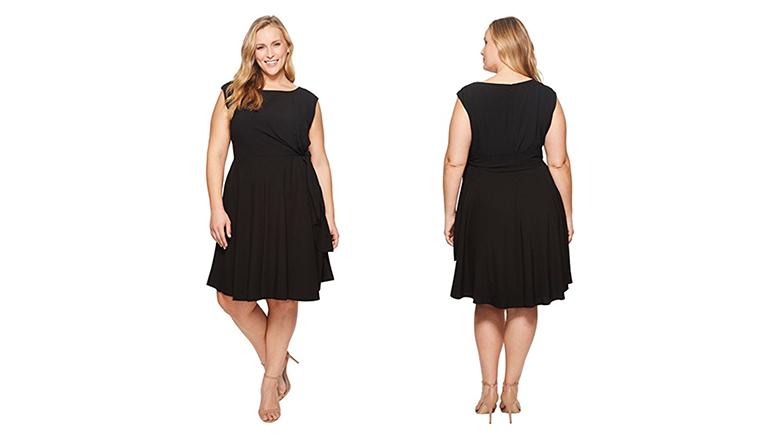 plus size shift dress, plus size little black dress, plus size black dresses, plus size lbd