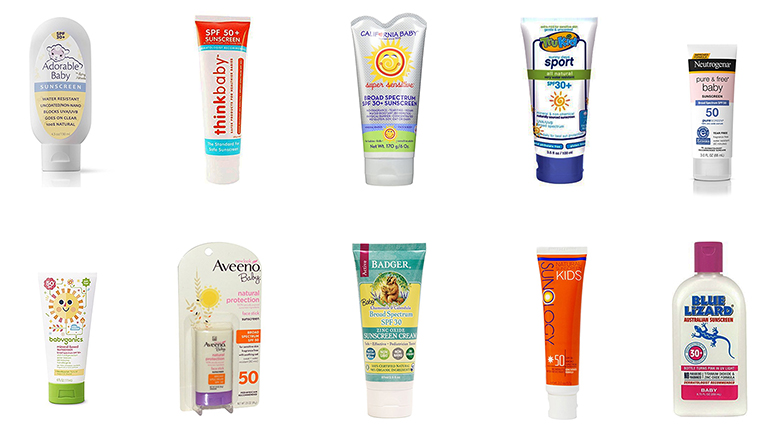 organic sunscreen for babies