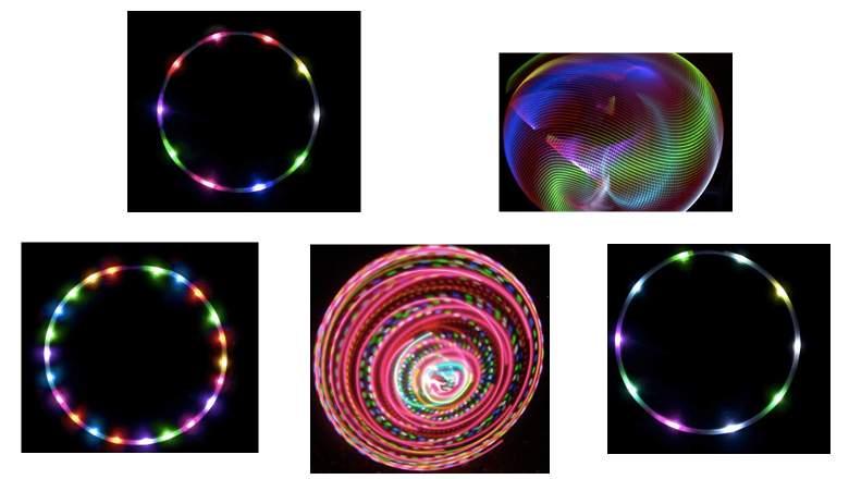 best LED hula hoops, LED hula hoops, light up hoops, beginner hoops