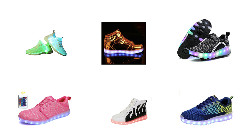 best light up shoes, light up shoes, LED shoes, adult light up shoes