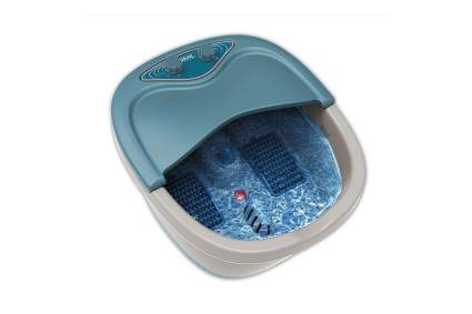 Wahl foot spa with water in it
