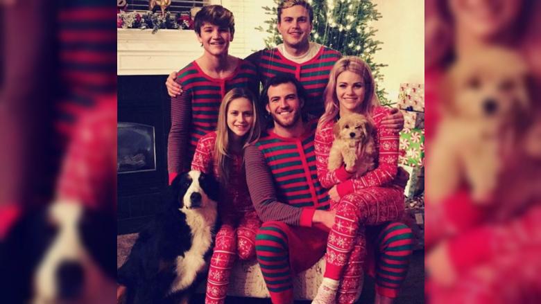 Witney Carson's family