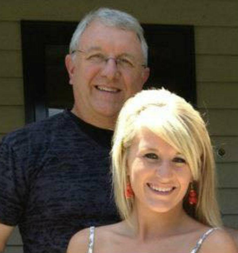 Roger Best with daughter Katie Best