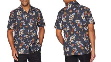 28 Palms mens standard fit 100 percent cotton hawaiian shirt
