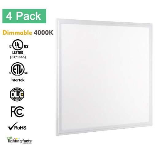 Allsmartlife 2x2 LED Flat Panel Light