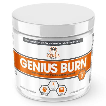 Thermogenic Weight Loss & Nootropic Focus Supplement