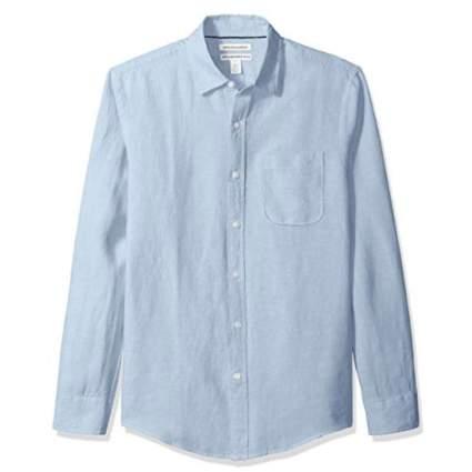 amaozn essentials linen shirt