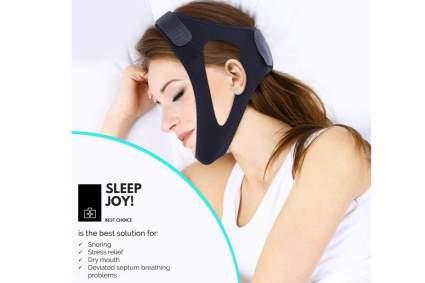 anti-snoring chin strap