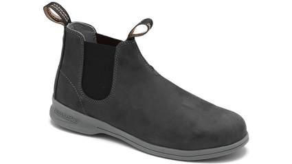 blundstone summer rustic black boot