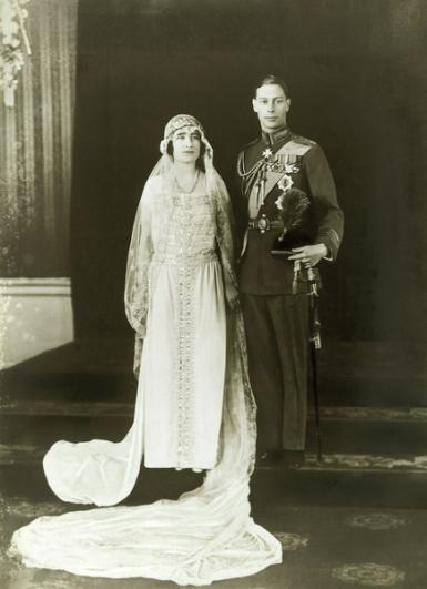 queen mother wedding dress