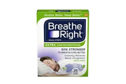 breathe right nasal strips sleep better breathe better
