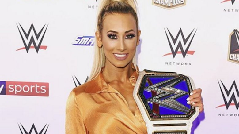 Carmella on the Red Carpet