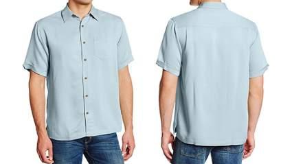 cubavera mens short sleeve bedford cord shirt