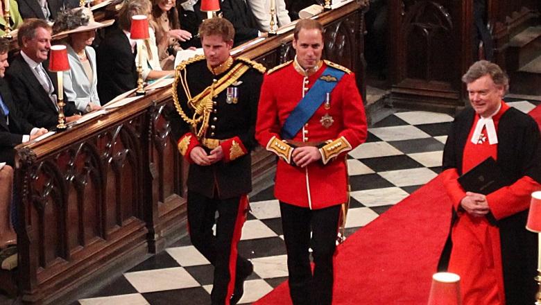 Prince Harry and Prince William Royal Wedding