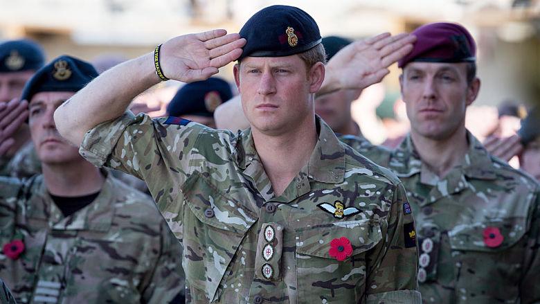 Prince Harry's military service