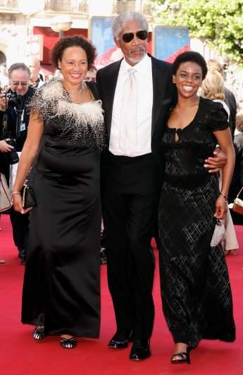 Morgan Freeman wife