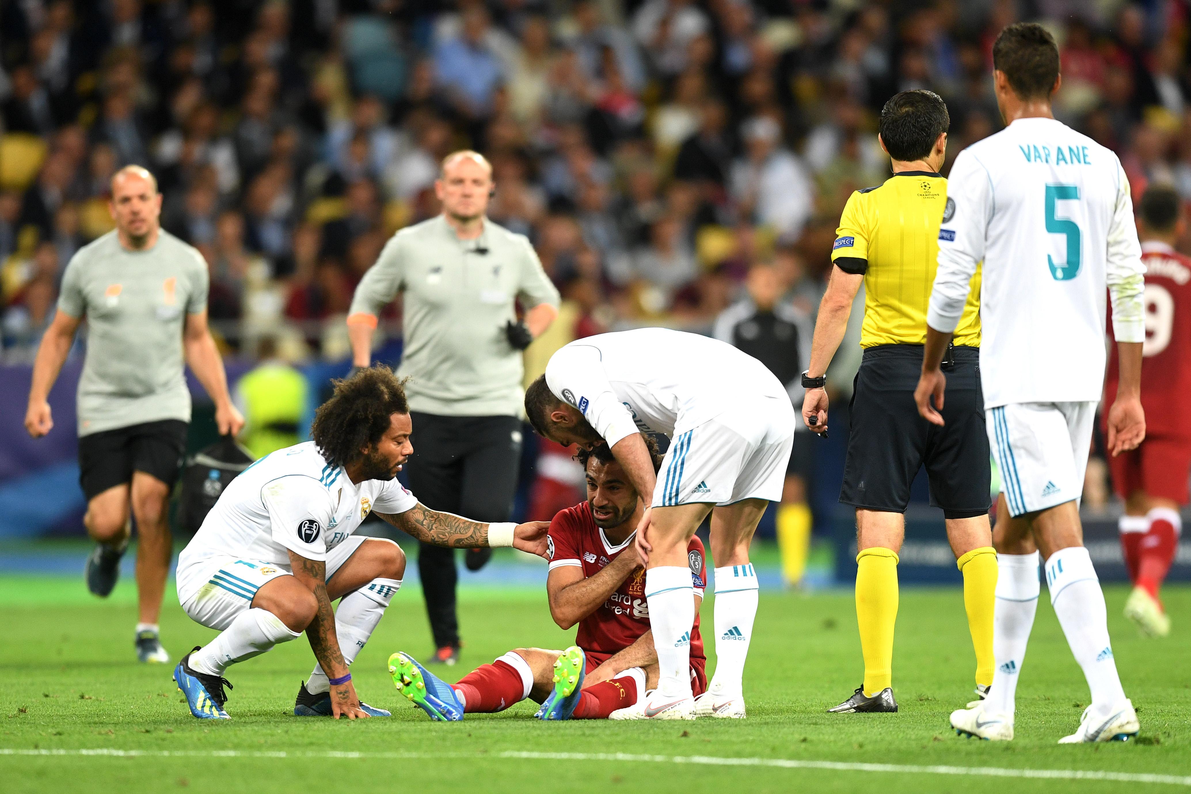 Mo Salah Champions League final