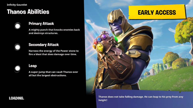 How to Play as Thanos in Fortnite