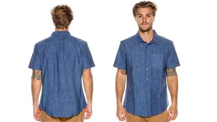 hurley new mens one & only short sleeve 3.0 shirt