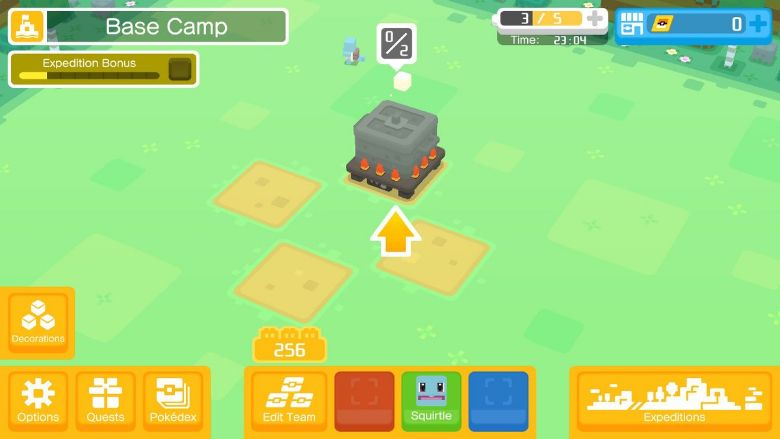 Pokemon Quest Cooking