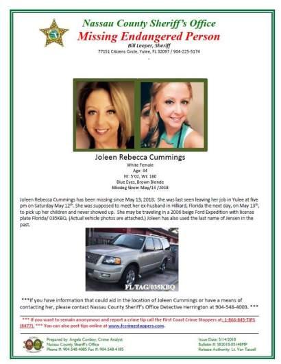 joleen cummings missing