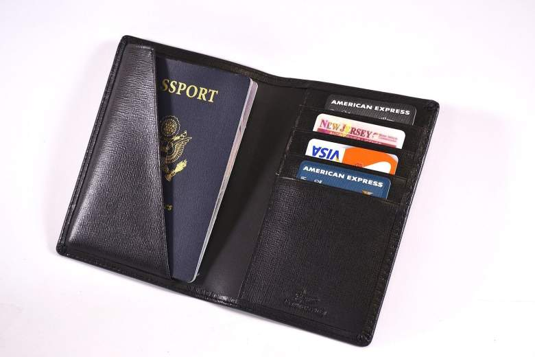 leather rfid blocking wallet