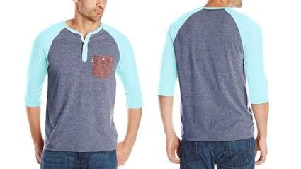levis mens marble henley shirt