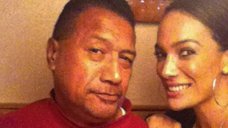 Nia Jax and her father.
