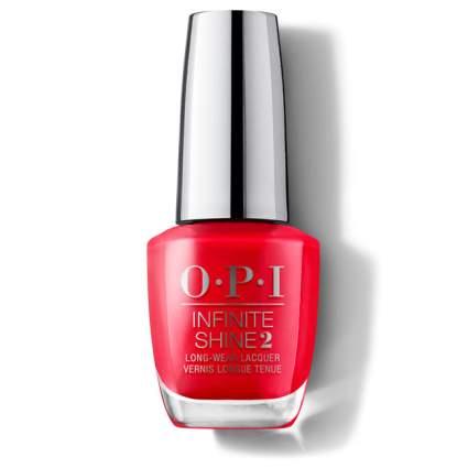 Coral OPI nail polish