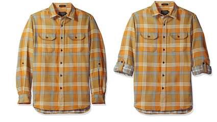 pendleton mens long sleeve fitted fairbank shirt