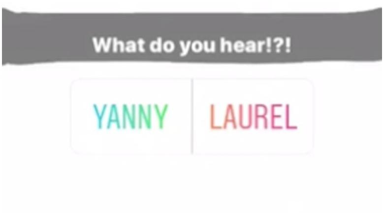 Laurel Vs. Yanny
