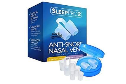 premium anti-snore nasal vents