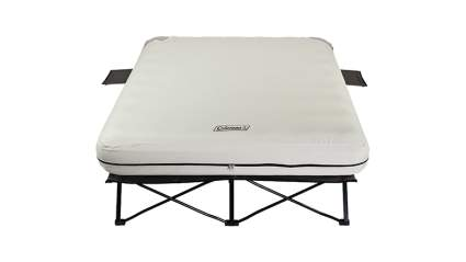coleman queen camping cot