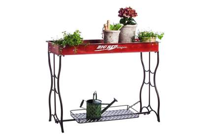 radio flyer garden potting bench