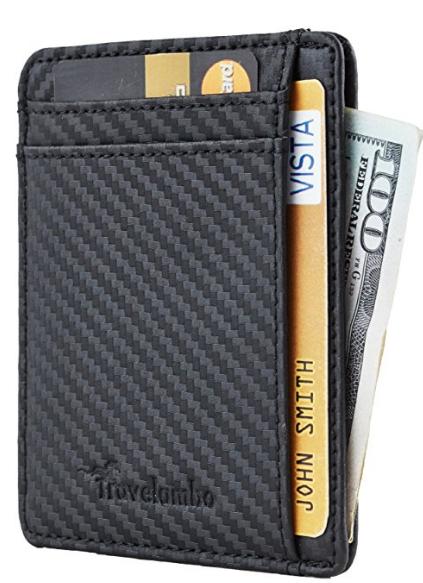 travelambo rfid blocking wallet