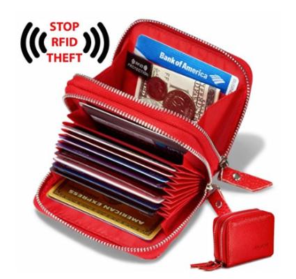 kamore leather rfid blocking wallet