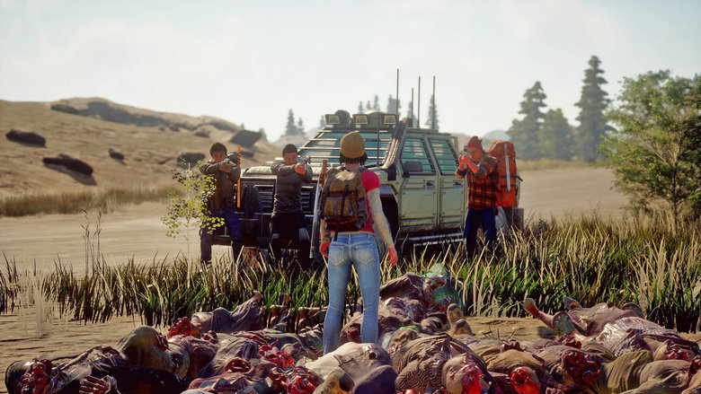 State of Decay 2 refuel car