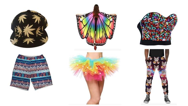 what to wear to a rave