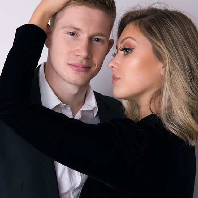 Michele and Kevin De Bruyne