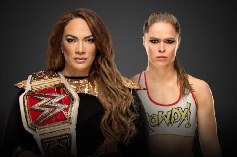 Nia Jax vs. Ronda Rousey