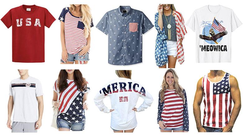 4th of july shirts