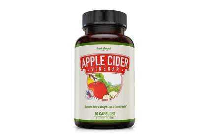 apple cider vinegar weight loss supplement