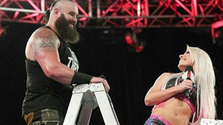 Braun Strowman and Alexa Bliss