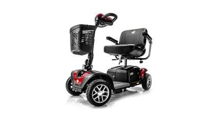 buzzaround 4 wheel long range mobility scooter